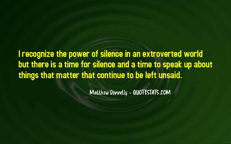 Matthew Donnelly Quotes #1466258