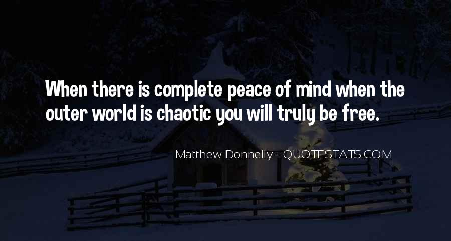 Matthew Donnelly Quotes #226799