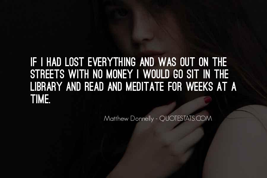 Matthew Donnelly Quotes #267451
