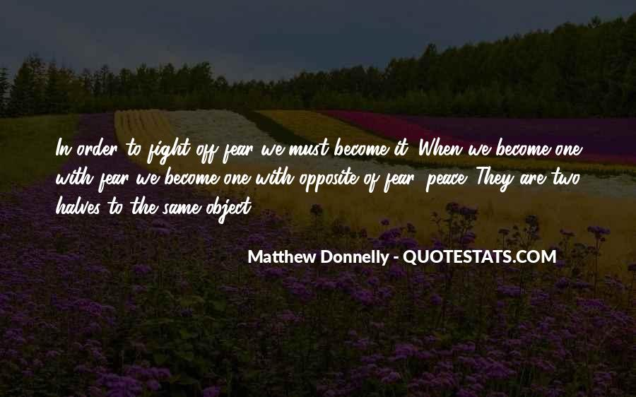 Matthew Donnelly Quotes #305735