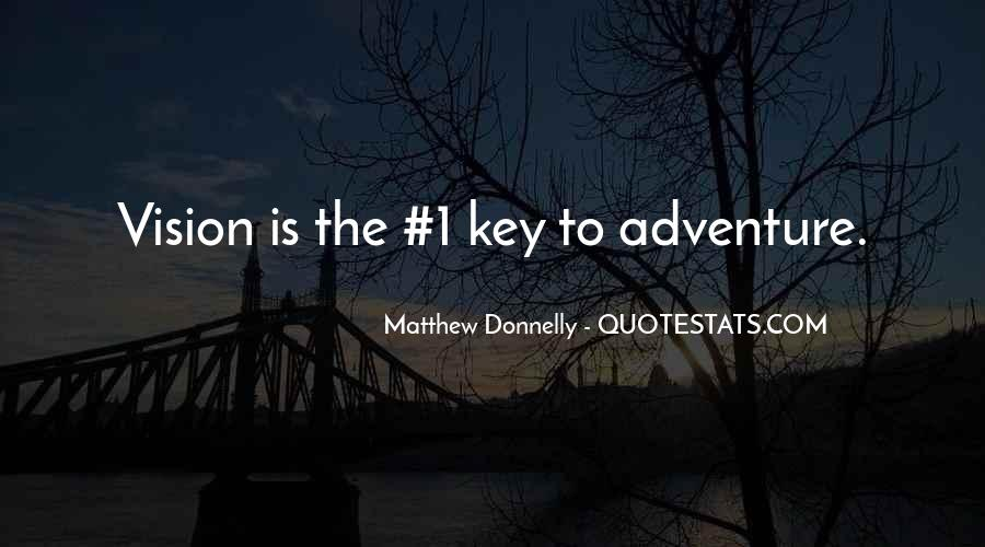 Matthew Donnelly Quotes #672799