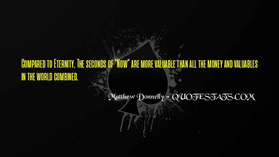 Matthew Donnelly Quotes #977872