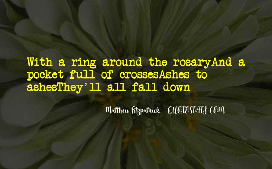 Matthew Fitzpatrick Quotes #87161