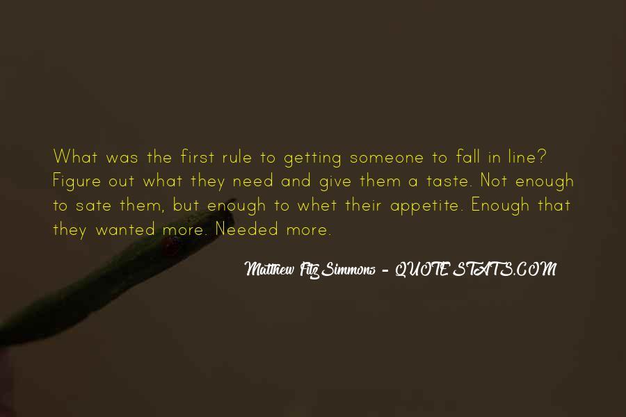 Matthew FitzSimmons Quotes #1613446