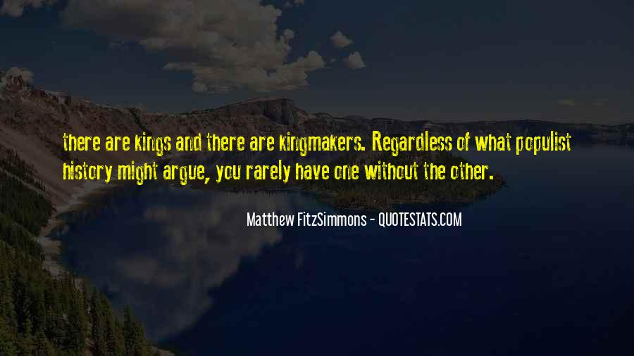 Matthew FitzSimmons Quotes #185378
