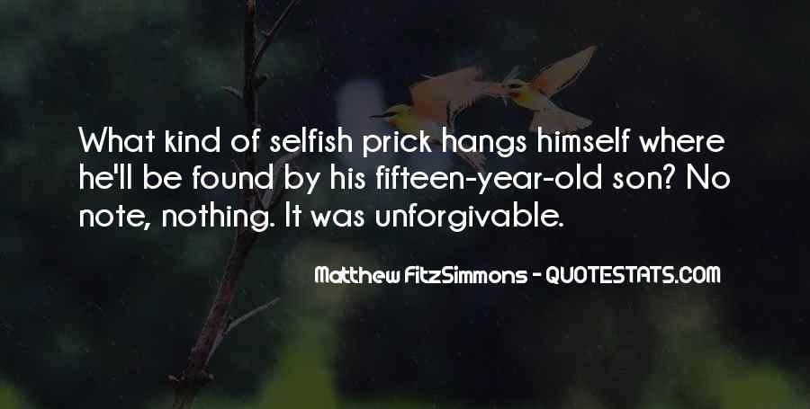 Matthew FitzSimmons Quotes #496959