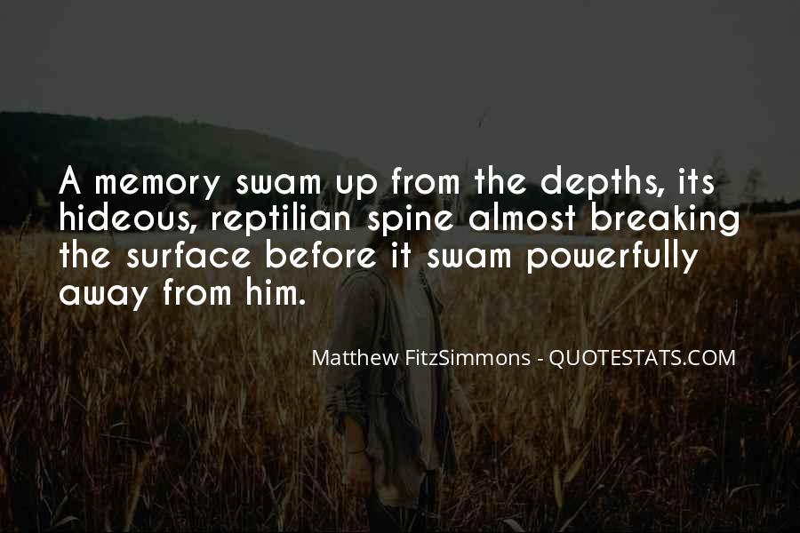 Matthew FitzSimmons Quotes #568207
