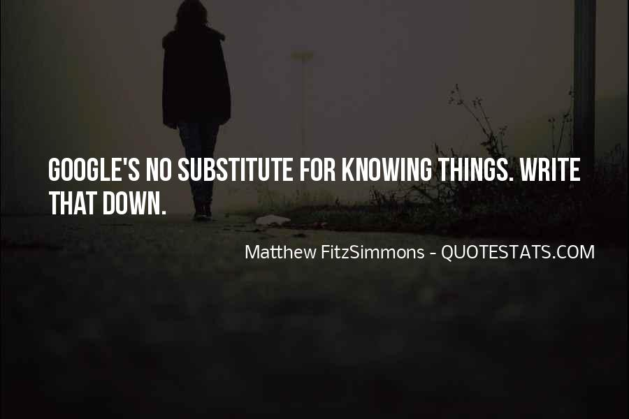 Matthew FitzSimmons Quotes #735839