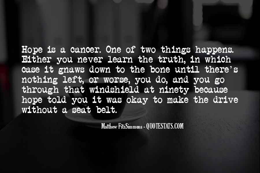 Matthew FitzSimmons Quotes #777469