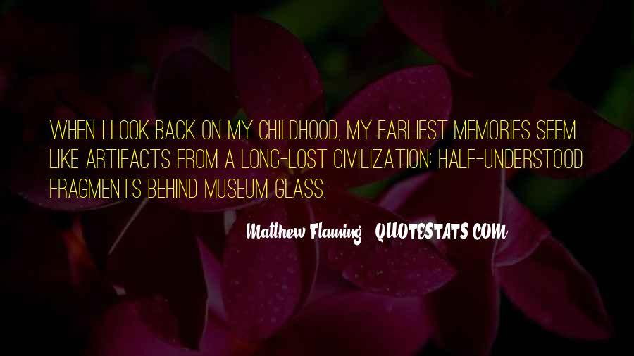Matthew Flaming Quotes #1768543