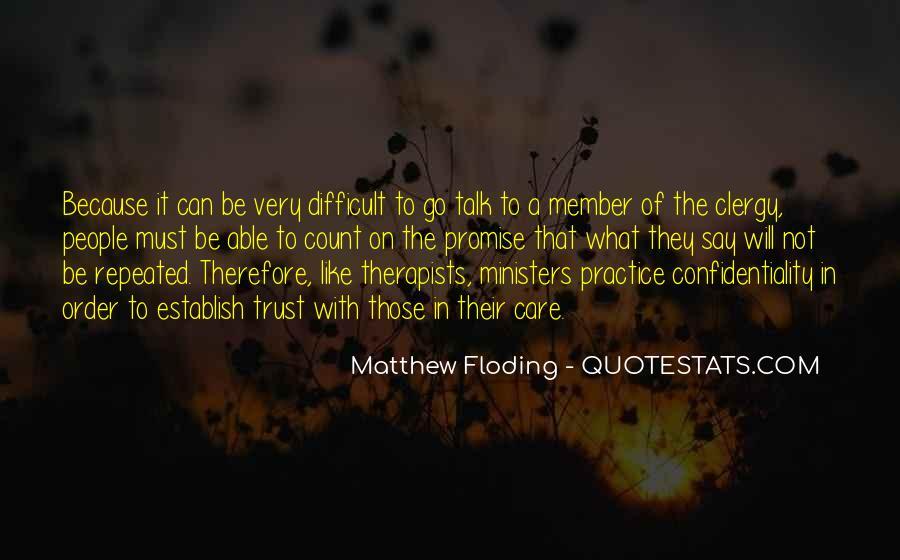 Matthew Floding Quotes #294218