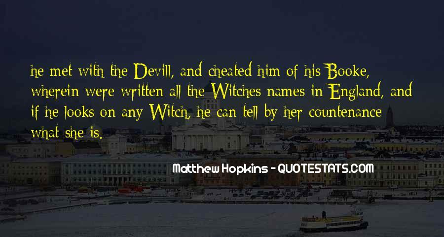 Matthew Hopkins Quotes #81419