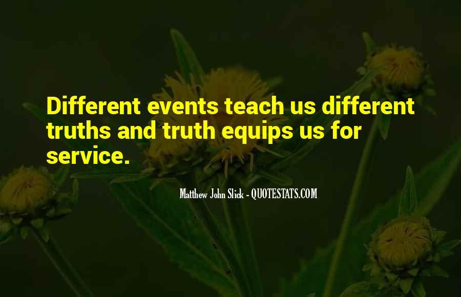 Matthew John Slick Quotes #1580422