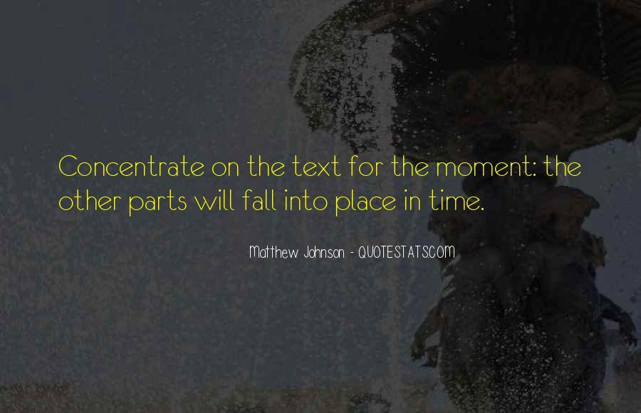 Matthew Johnson Quotes #90631