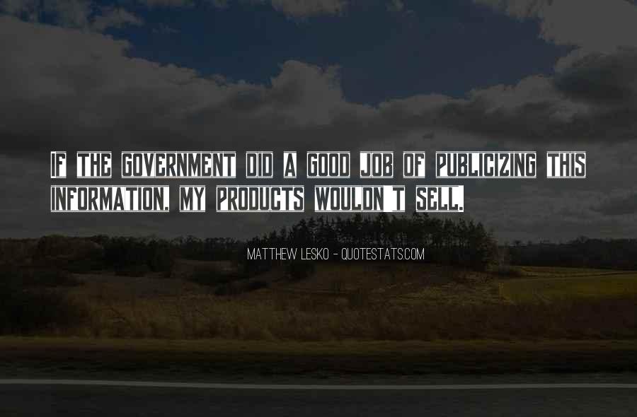 Matthew Lesko Quotes #1394345