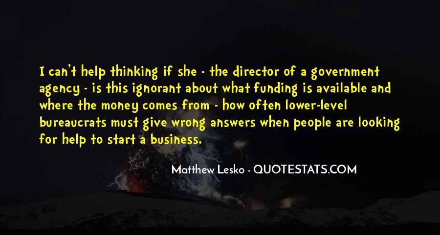 Matthew Lesko Quotes #282962