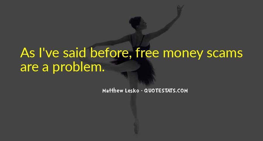 Matthew Lesko Quotes #482752