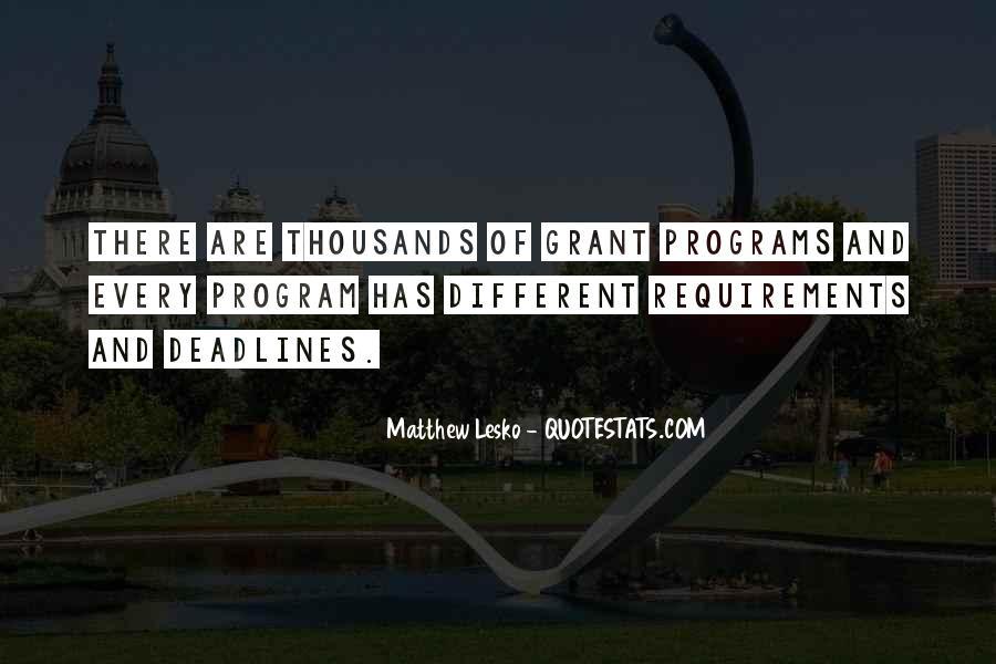 Matthew Lesko Quotes #849041