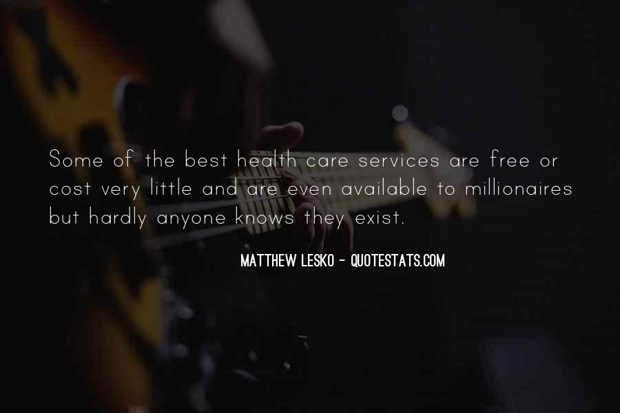 Matthew Lesko Quotes #978573