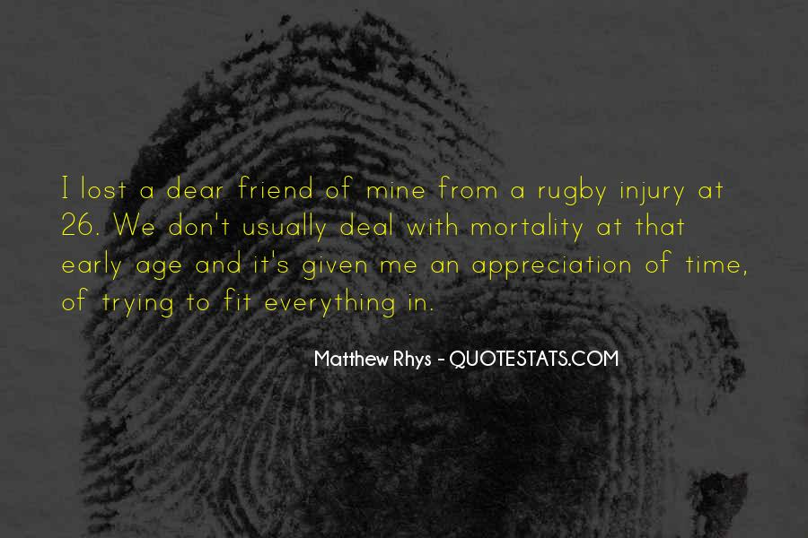 Matthew Rhys Quotes #1256461