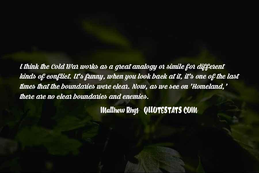 Matthew Rhys Quotes #1484414