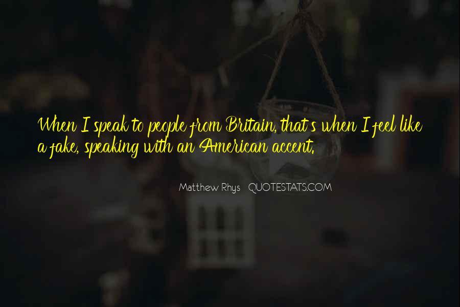 Matthew Rhys Quotes #618797