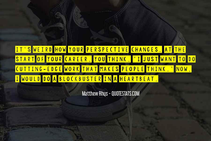 Matthew Rhys Quotes #800173