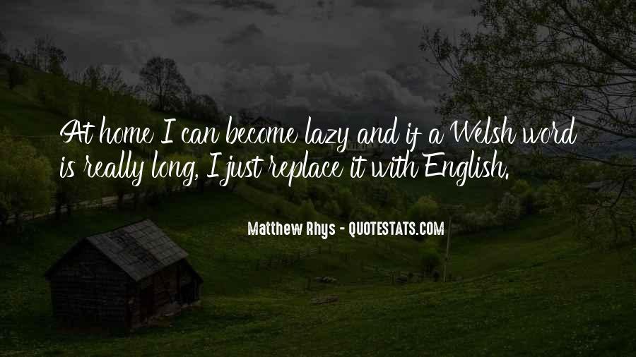 Matthew Rhys Quotes #890706