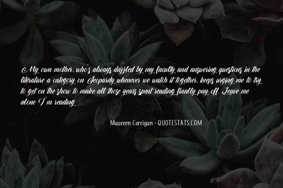 Maureen Corrigan Quotes #1419782