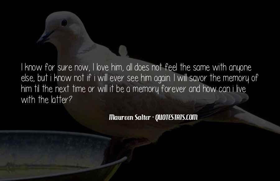 Maureen Salter Quotes #1693376