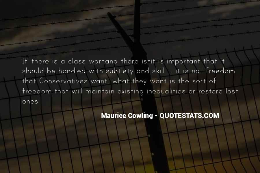 Maurice Cowling Quotes #1500973