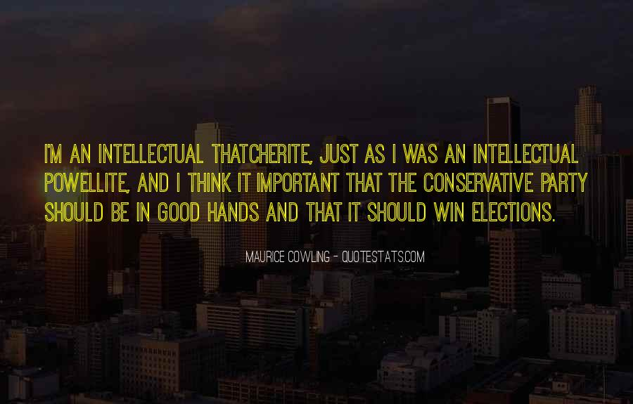 Maurice Cowling Quotes #590944