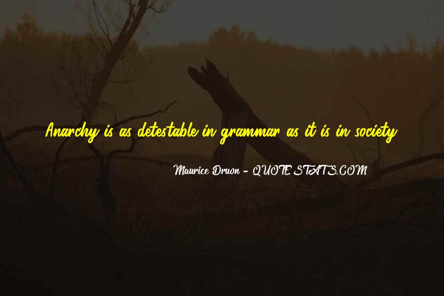 Maurice Druon Quotes #1033622