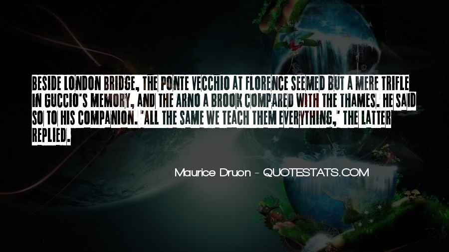 Maurice Druon Quotes #1639159