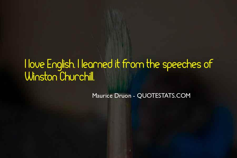 Maurice Druon Quotes #194610