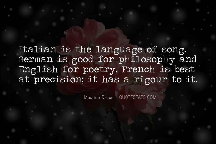 Maurice Druon Quotes #566337