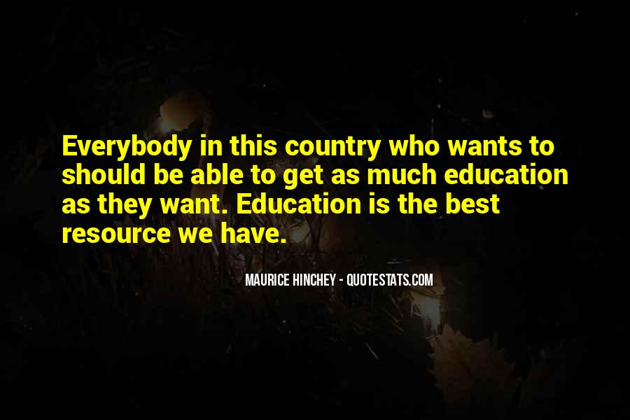Maurice Hinchey Quotes #1812300