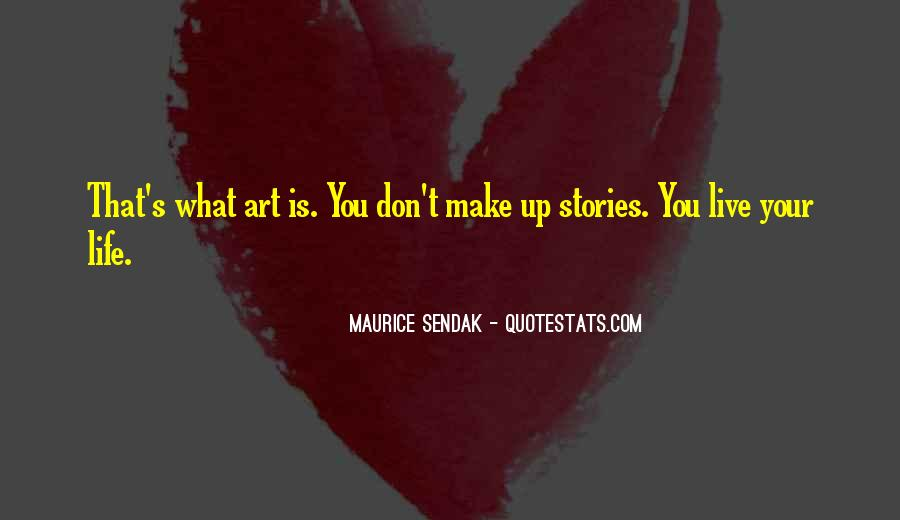 Maurice Sendak Quotes #489651