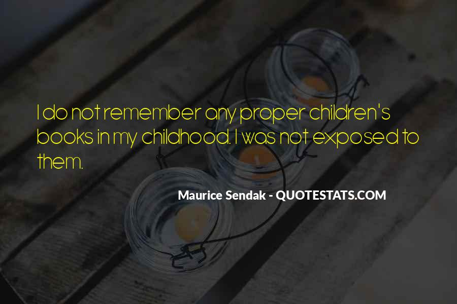 Maurice Sendak Quotes #676509