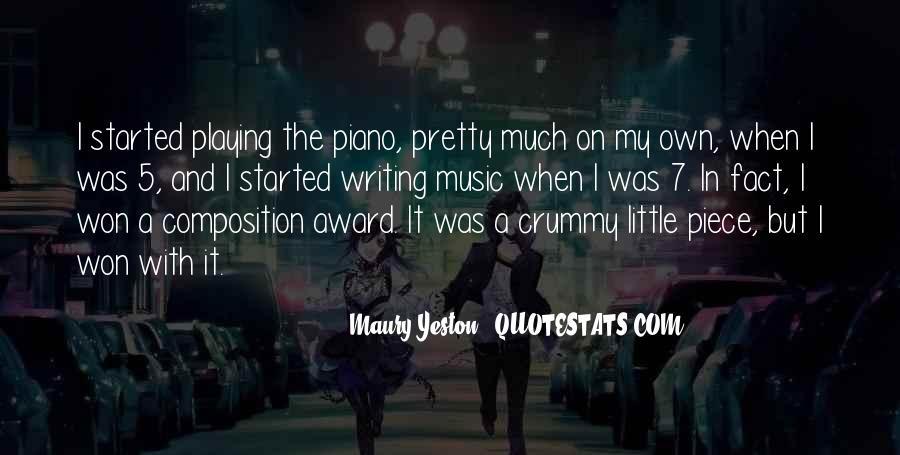 Maury Yeston Quotes #1193342