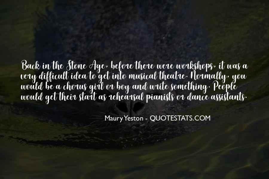 Maury Yeston Quotes #1435712