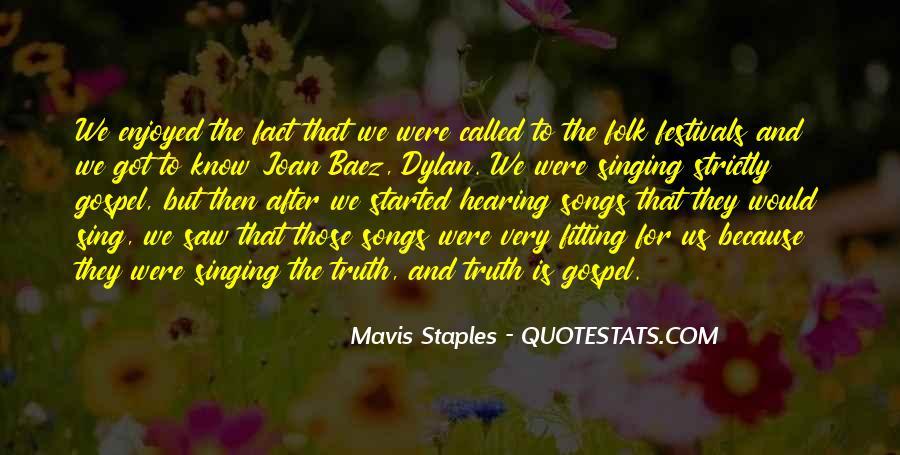 Mavis Staples Quotes #10300