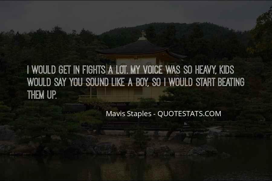 Mavis Staples Quotes #1229881