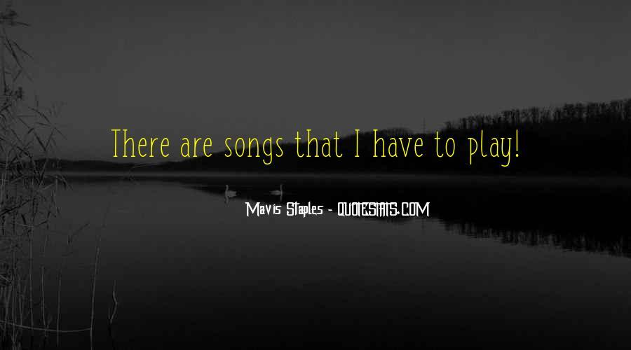 Mavis Staples Quotes #1271934