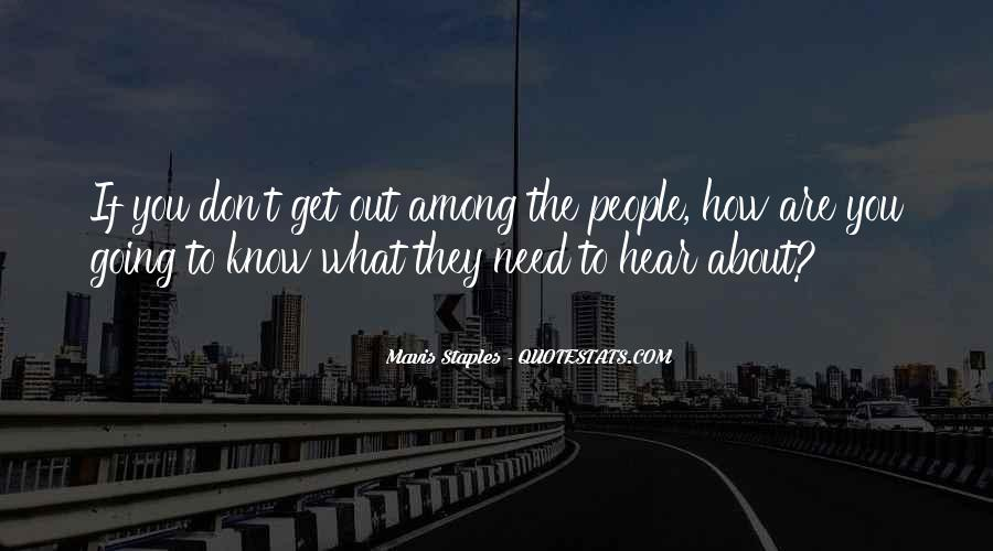 Mavis Staples Quotes #585831
