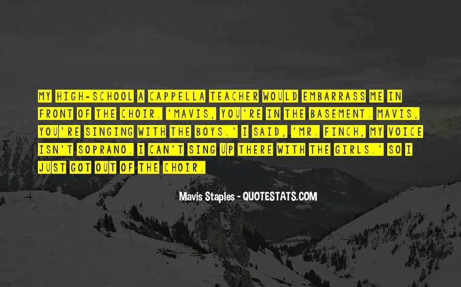 Mavis Staples Quotes #615528