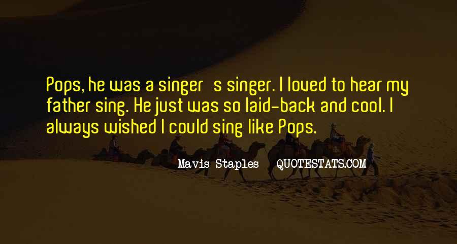 Mavis Staples Quotes #625266