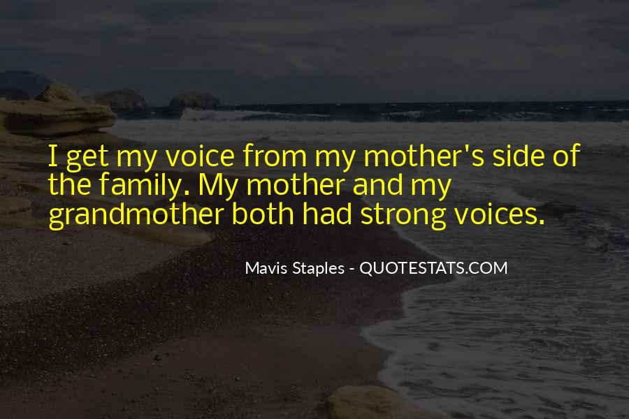Mavis Staples Quotes #7606
