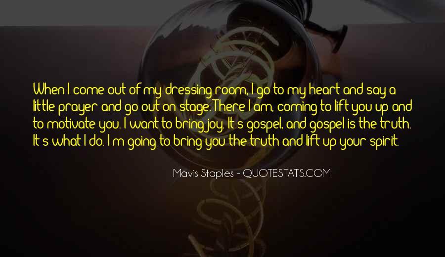 Mavis Staples Quotes #804394