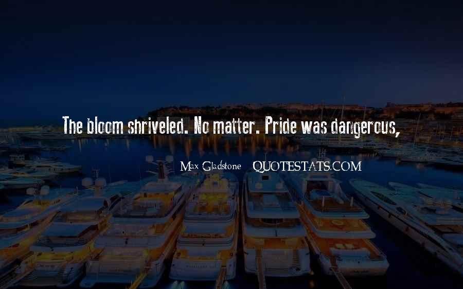 Max Gladstone Quotes #1265392